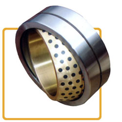 spherical bronze bearing with graphite