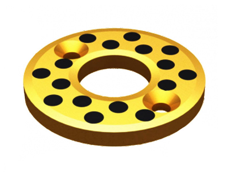 cast thrust washer-bronze graphite